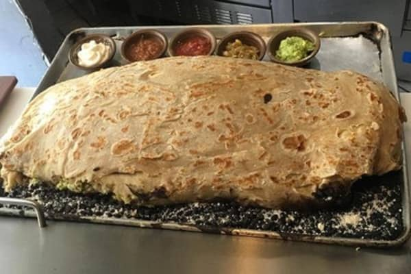 Want to own part of a taqueria? This 30-pound burrito is your ticket