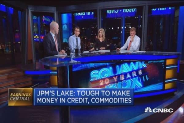 JPMorgan's 'silver lining' earnings miss: Analyst