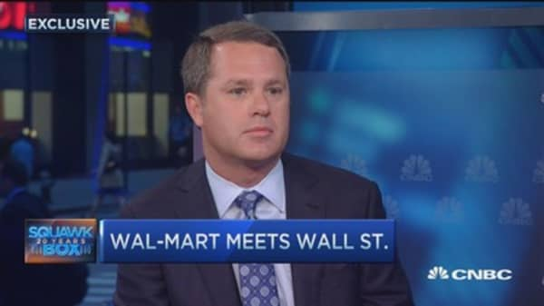 WMT CEO: Keeping on our toes and making changes