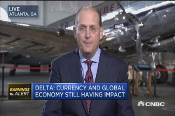 Delta beats on top and bottom line: CEO