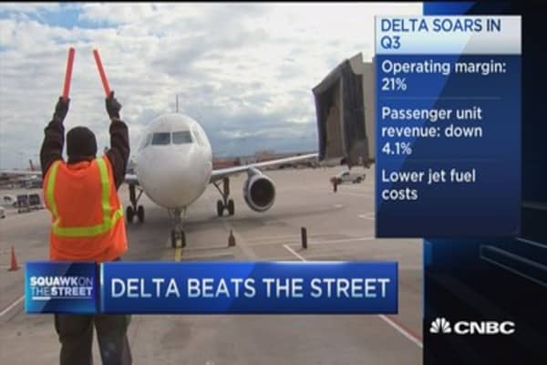 Delta CEO expects even stronger 2016
