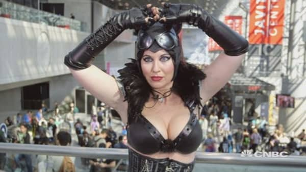Best costumes from Comic Con