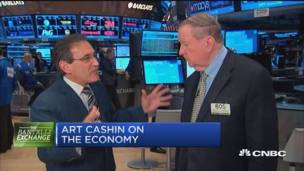 Santelli & Art Cashin get real on the Fed