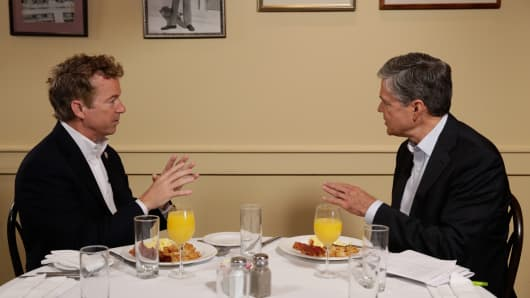 Rand Paul speaks with CNBC's John Harwood.