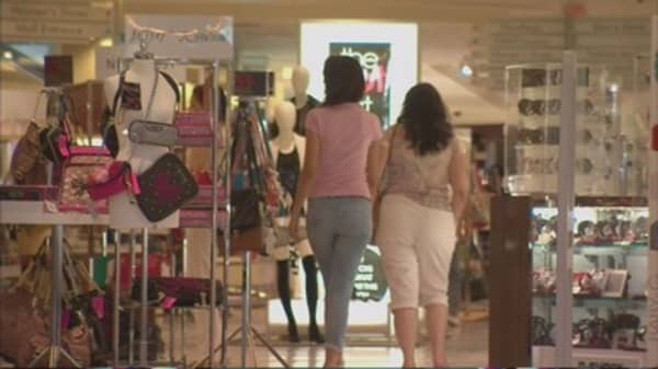 Retail sales numbers in September are soft