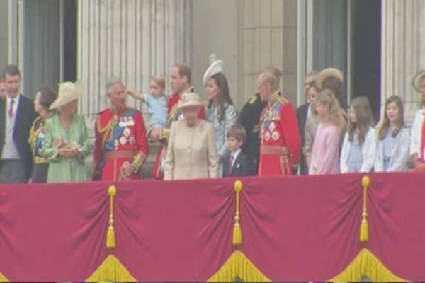 U.K. monarchy worth an estimated $87 billion