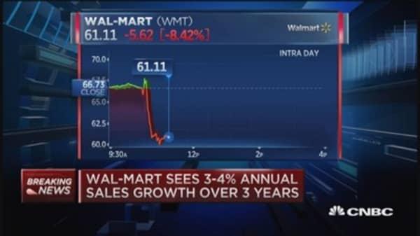 Wal-Mart's 'big disadvantage'