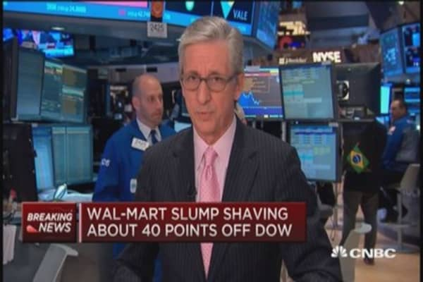 Wal-Mart pain hitting these retail stocks