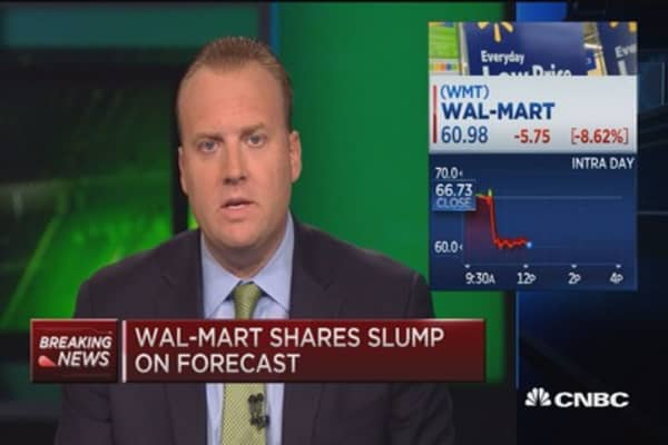 The trade on Wal-Mart