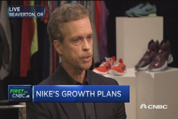 Not shy about our ambitious goals: Nike CEO