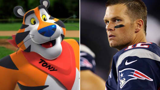 Kellogg's Frosted Flakes Tom Brady
