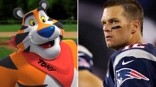Kellogg's Frosted Flakes Tom Brady
