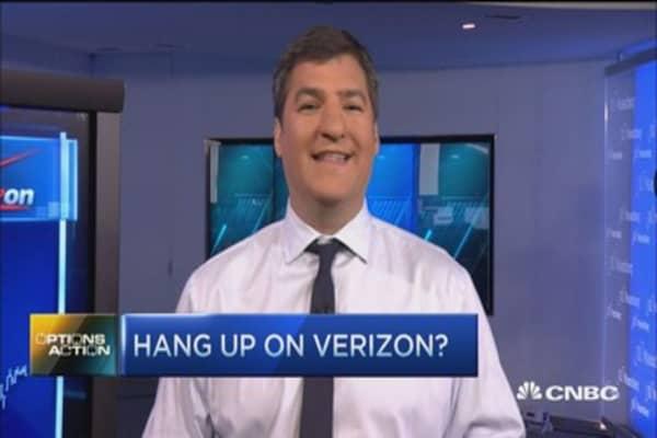 Options Action: Hang up on Verizon?