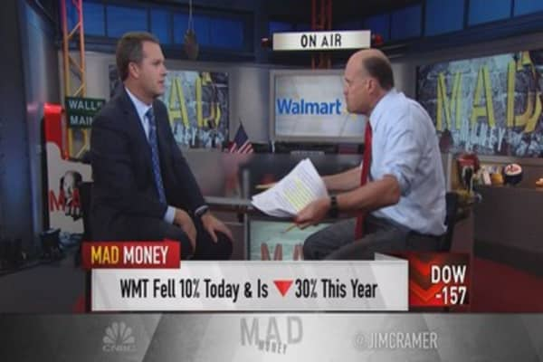Wal-Mart CEO to Cramer: This was coming