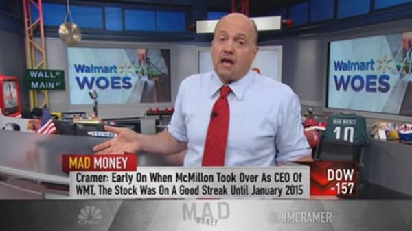 Cramer: Wal-Mart's blow up!