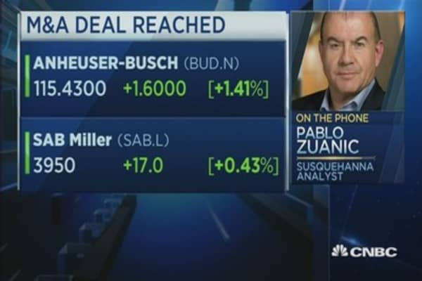 How much is the Ab InBev-SABMiller deal really worth?