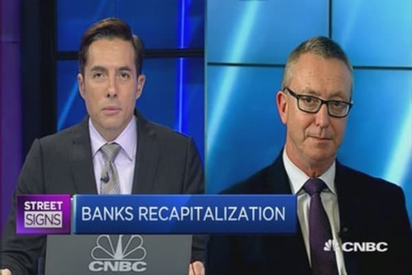 Bank recapitalization in Australia