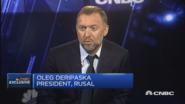 We won't see the bottom of the Russian market yet: Rusal president