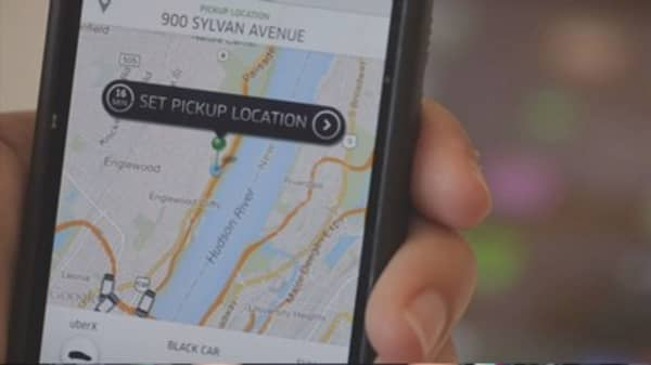 Uber takes bigger share of business ground travel
