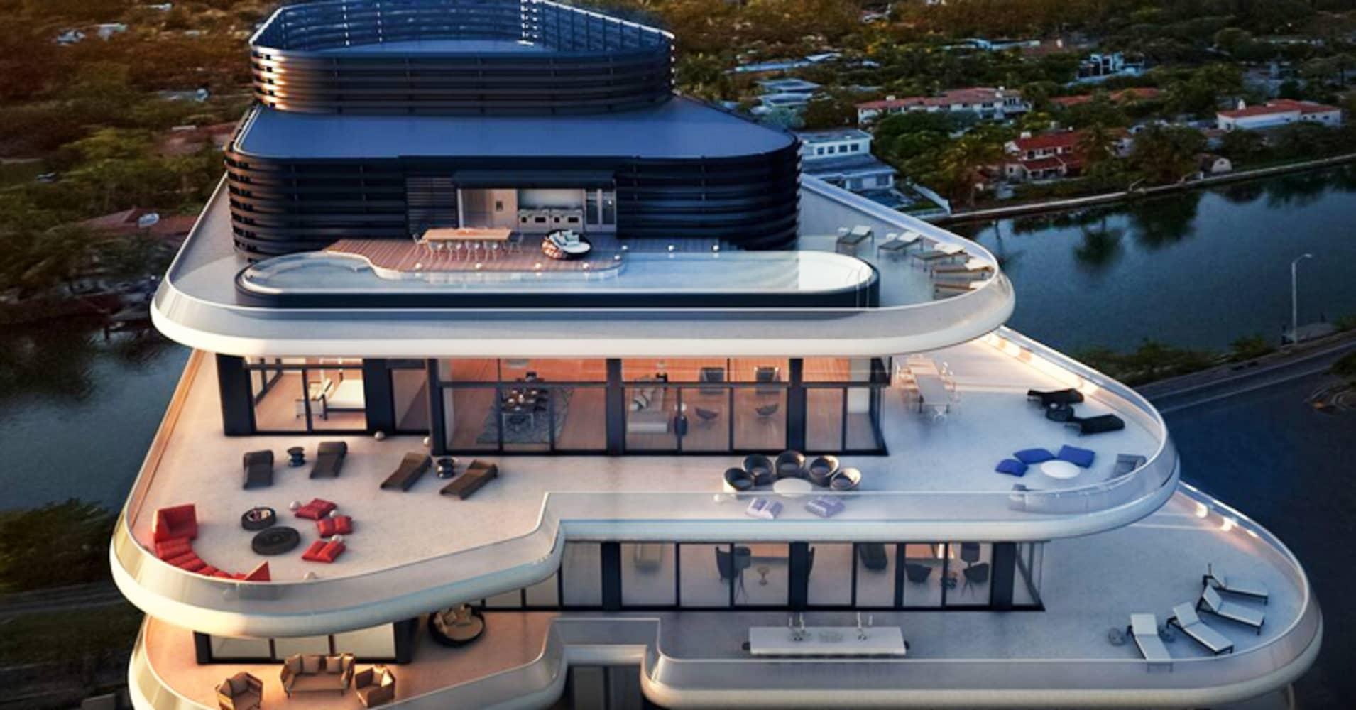 The New Billionaire Beach Bunker In Miami