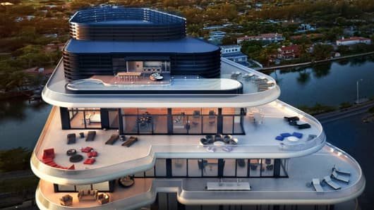 The New Billionaire Beach Bunker In Miami