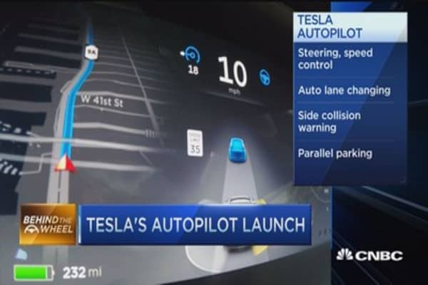 Check out Tesla's Autopilot technology