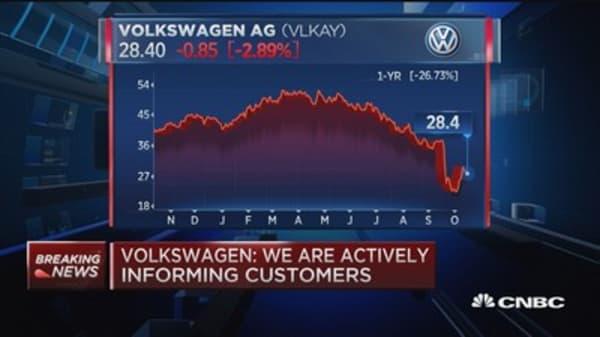 Volkswagen to recall 8.5M vehicles in Europe