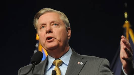 Republican presidential candidate, and U.S. Senator Lindsey Graham.