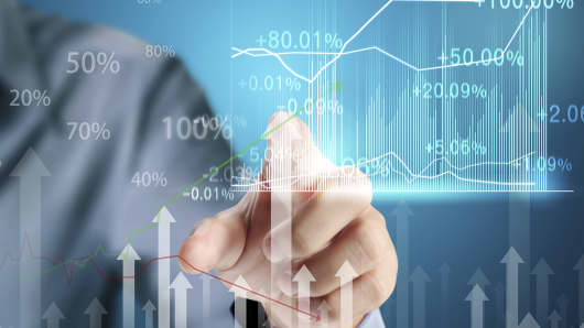 Venture capital data chart