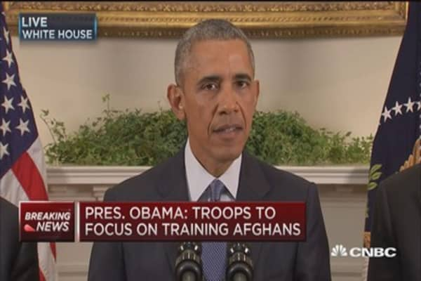 President Obama: I do not support endless war