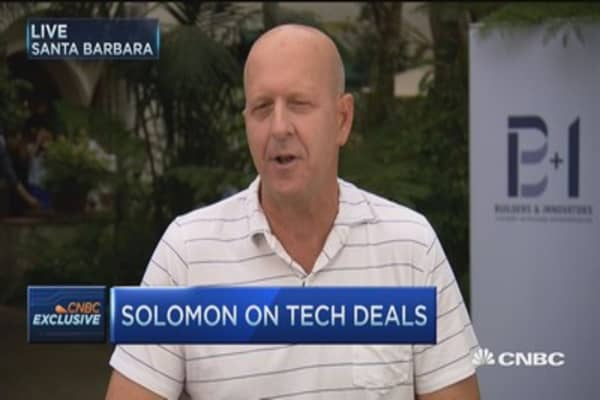 Goldman's Soloman talks deals, IPO market