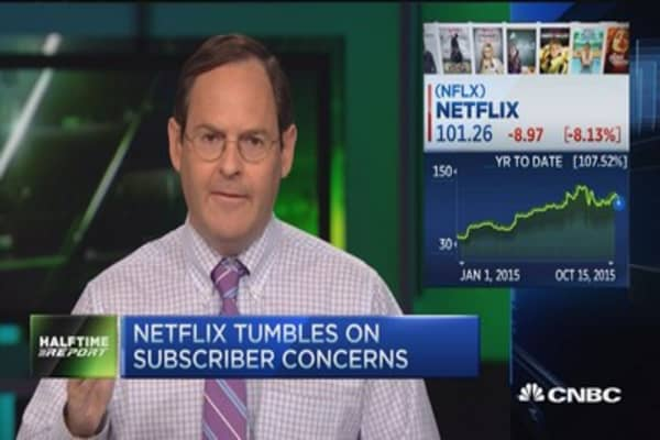 Trading the Netflix shortfall