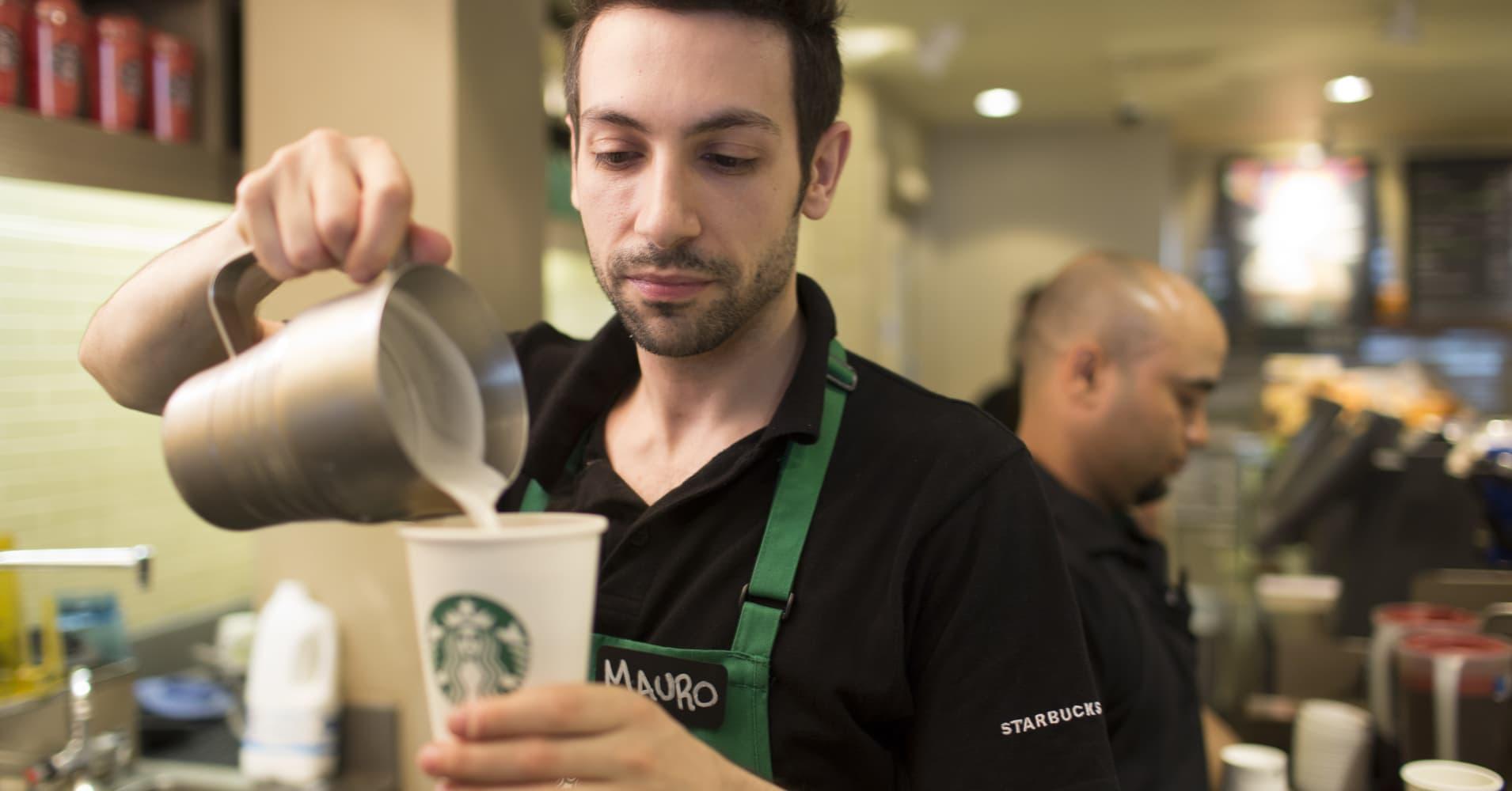 Pricier brews and premium food seen boosting Starbucks sales, KeyBanc says