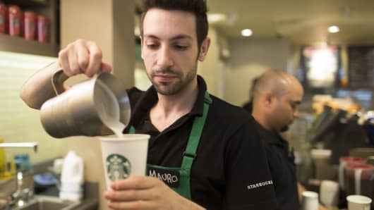 Starbucks Barista in Europe