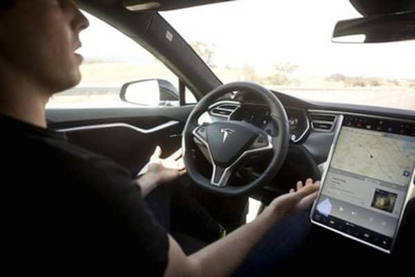 Tesla unveils autopilot system