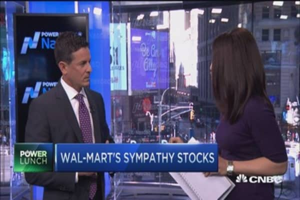 Long term bull on Wal-Mart