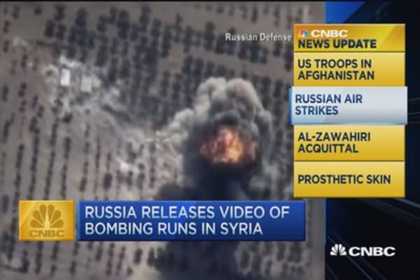CNBC update: Russia carries out 33 bombings in Syria