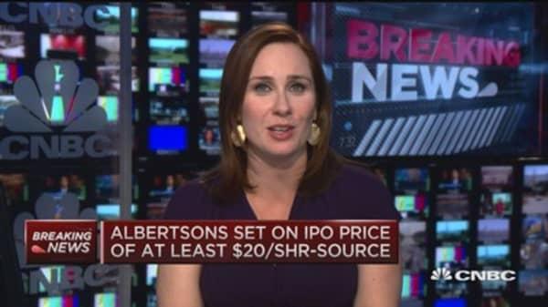 Albertsons still eyes $20 IPO in coming weeks