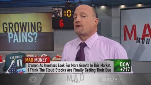 Cramer: Seeking growth
