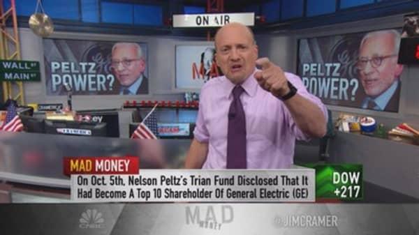 Cramer: Peltz a GE fan, should you be too?