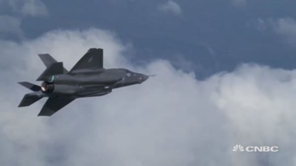F-35 doesn't 'keep me up at night anymore'