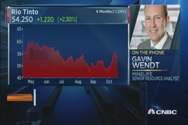 Rio Tinto's Q3 operations were outstanding: Analyst