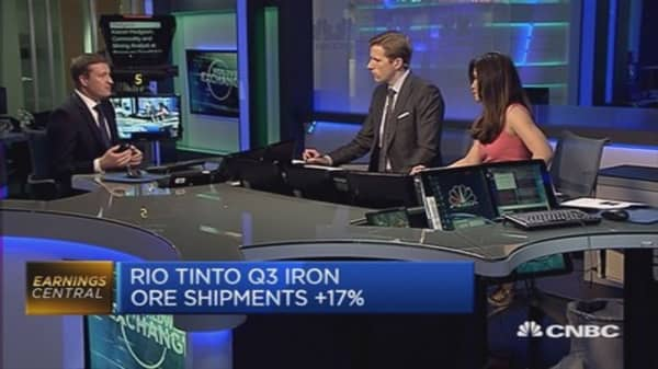 Hard for Rio Tinto to curtail production: Pro
