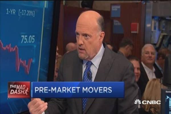 Cramer's Mad Dash: SLB