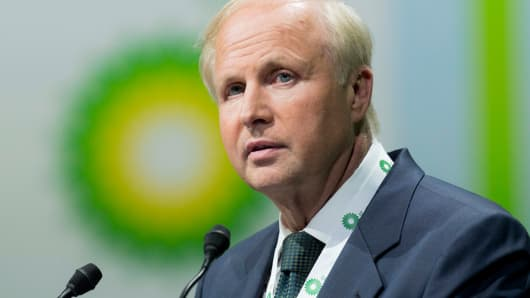 Robert 'Bob' Dudley, chief executive officer of BP Plc.