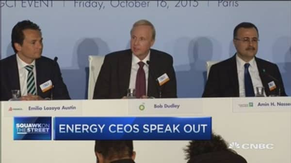 CEOs meet in Paris on energy