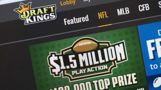 DraftKings, a fantasy sports website