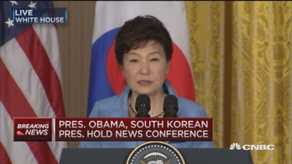 Pres. Park Geun-hye: US-S. Korea alliance stronger than ever