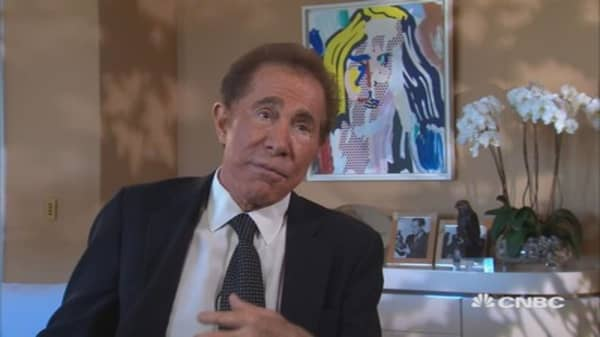 Wynn on China last May: 'China is in a state of change'