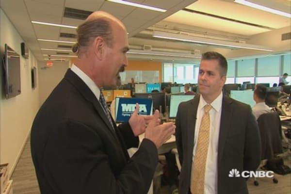 Jon Najarian visits IEX trading floor
